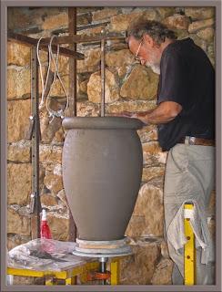 Une technique mill naire - Fabriquer un tour de potier ...